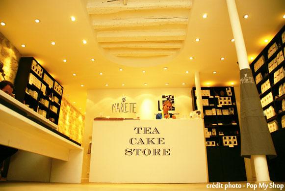 Boutique éphémère - teacakestore