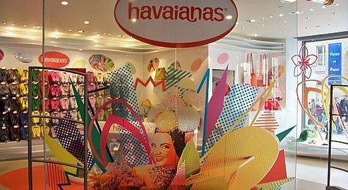 Intérieur boutique Havaianas