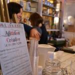 Agitation créative à la Cartonnerie, une très belle vente de créateurs.