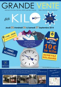 Evenement Vente de vêtements au kilo